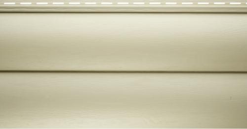 Виниловый сайдинг Альта-Профиль Блокхаус Престиж Двухпереломный BH-02 (Бежевый), 3,1м