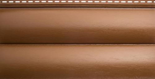 Акриловый сайдинг Альта-Профиль Блокхаус Премиум Двухпереломный BH-02 (Дуб светлый), 3,1м
