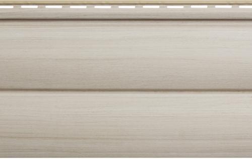 Крашеный  сайдинг Альта-Профиль Блокхаус Люкс Двухпереломный малый BH-03 (Ясень), 3м