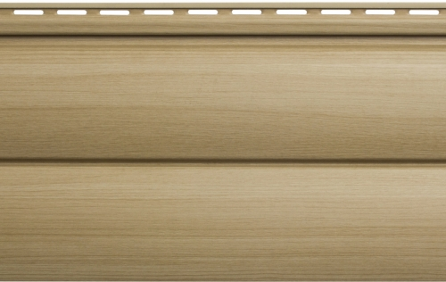 Крашеный  сайдинг Альта-Профиль Блокхаус Люкс Двухпереломный малый BH-03 (Ольха), 3м