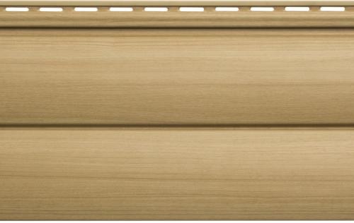 Крашеный  сайдинг Альта-Профиль Блокхаус Люкс Двухпереломный малый BH-03 (Бук), 3м
