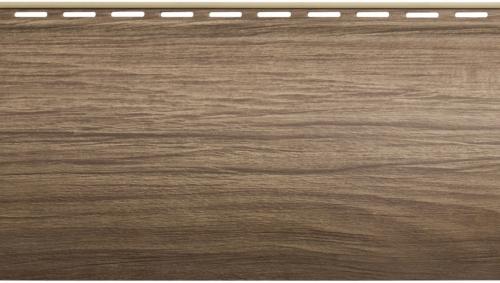 Крашеный  сайдинг Альта-Профиль Блокхаус Люкс Однопереломный BH-01 (Орех), 3,1м