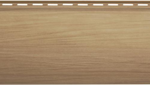 Крашеный сайдинг Альта-Профиль Блокхаус Люкс Однопереломный BH-01 (Каштан), 3,1м