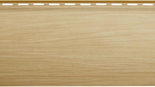 Крашеный сайдинг Альта-Профиль Блокхаус Люкс Однопереломный BH-01 (Бук), 3,1м
