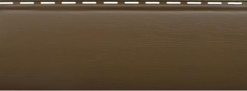 Акриловый сайдинг Альта-Профиль Блокхаус Премиум Однопереломный BH-01 (Орех тёмный), 3,1м