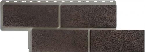 Фасадные панели Альта-Профиль камень Неаполитанский (Коричневый)