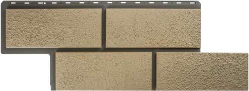 Фасадные панели Альта-Профиль камень Неаполитанский (Слоновая кость)