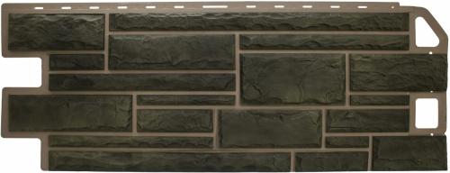 Фасадная панель Альта-Профиль Камень (Малахит)