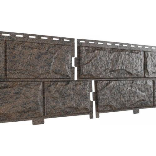 Фасадная панель Ю-Пласт Стоун Хаус Камень (Жжёный)