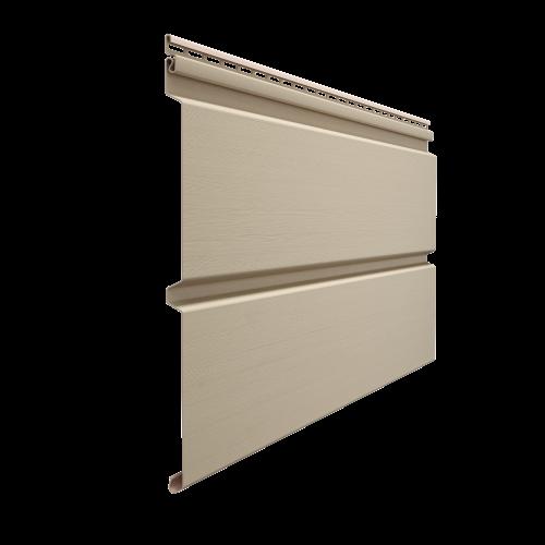 Виниловый сайдинг Docke Premium D6S (Крем-Брюле), 3,6м