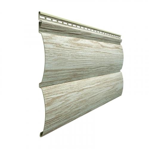 Виниловый сайдинг Docke Lux Под  дерево Блок-Хаус D4.7T (Орех) 3,6м