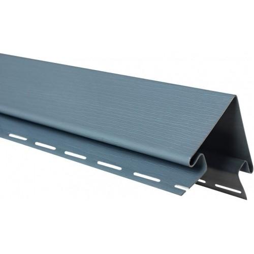 Планка наружный угол Альта-Профиль Серо-голубая 3м