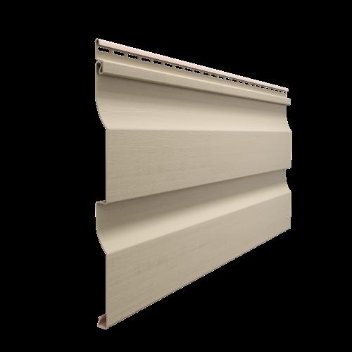 Виниловый сайдинг Docke Premium D4.5D (Крем-брюле), 3,6м