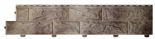Формованый сайдинг Альта-Профиль Альта-Форм Вулканический камень (Циркон), 3,00м