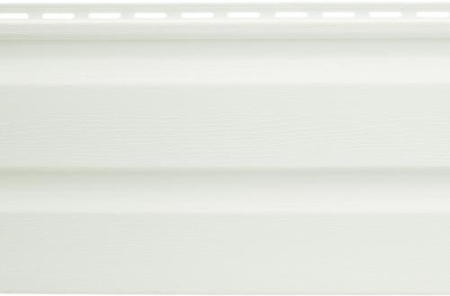 Виниловый сайдинг Альта-Профиль Альта-Классика (Белый), 3,66м