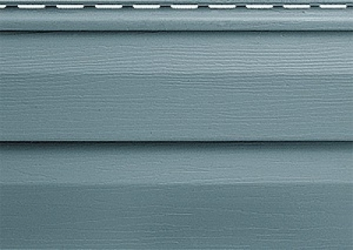Виниловый сайдинг Альта-Профиль Альта-Классика (Серо-голубой), 3,66м