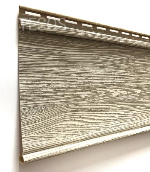 Крашеный сайдинг Tecos Люкс Облицовочная доска (Алтайская береза), 3,66м