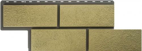 Фасадные панели Альта-Профиль камень Неаполитанский (Песчаный)