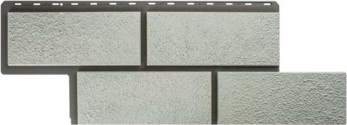 Фасадные панели Альта-Профиль камень Неаполитанский (Белый)