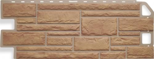 Фасадная панель Альта-Профиль Камень (Бежевый)