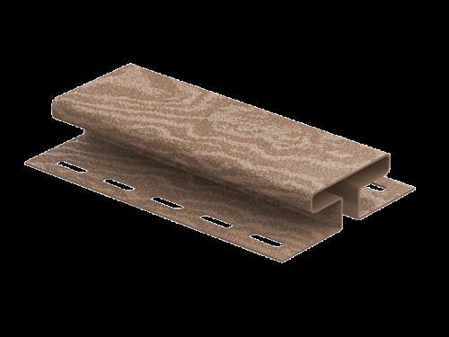 H-планка Ю-Пласт Timberblock Кедр (Натуральный), 3м