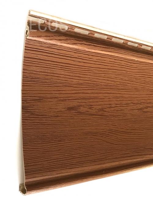 Крашеный сайдинг Tecos Люкс Облицовочная доска (Итальянский орех), 3,66м