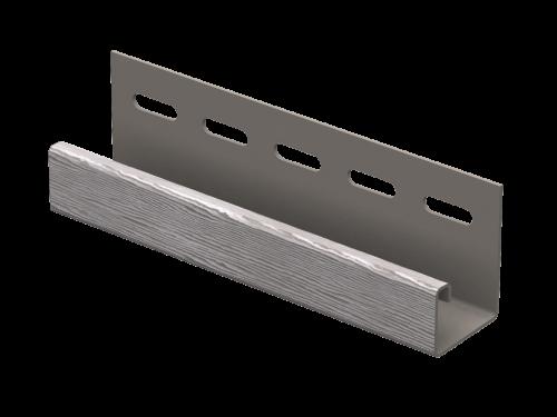J-планка Ю-Пласт Timberblock Дуб (Серебристый), 3м