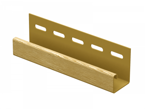 J-планка Ю-Пласт Timberblock Дуб (Золотистый), 3м