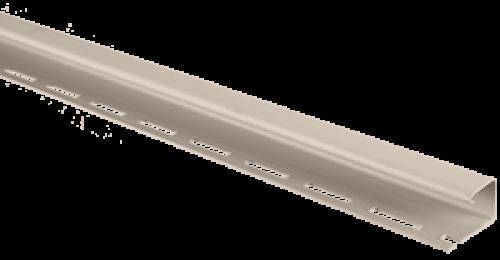 Планка J-trim Альта-Профиль бежевая, 3м