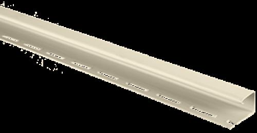 Планка J-trim Альта-Профиль кремовая, 3м