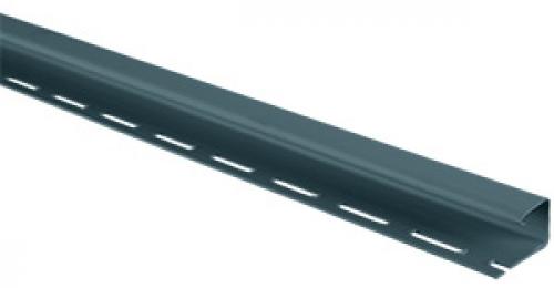 Планка J-trim Альта-Профиль серо-голубая, 3м