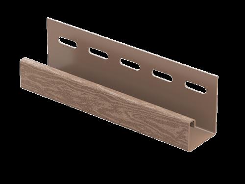 J-планка Ю-Пласт Timberblock Кедр (Натуральный), 3м