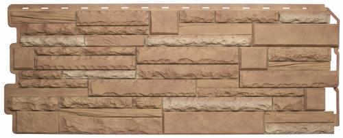 Фасадная панель Альта-Профиль Камень Скалистый (Памир Комби)