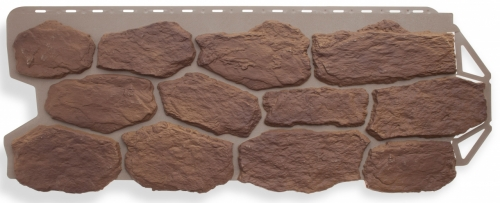 Фасадная панель Альта-Профиль Бутовый камень (Скифский)