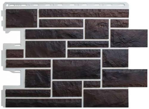 Фасадная панель Альта-Профиль Камень Пражский (цвет 05)