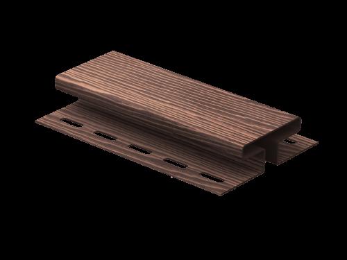 H-планка Ю-Пласт Timberblock Дуб (Мореный), 3м