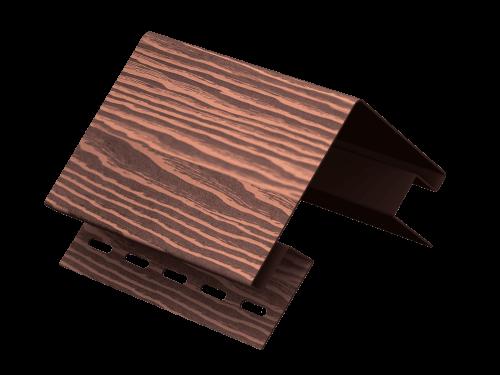 Наружный угол Ю-Пласт Тимберблок Дуб (Мореный), 3м