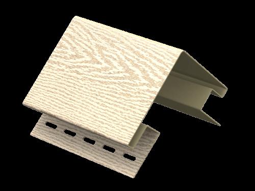 Наружный угол Ю-Пласт Тимберблок Ясень (Золотистый), 3м