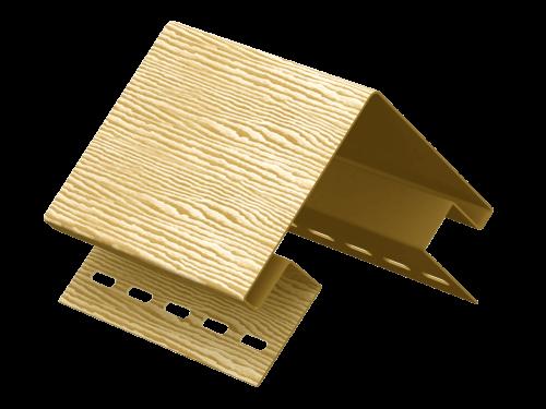 Наружный угол Ю-Пласт Тимберблок Дуб (Золотистый), 3м