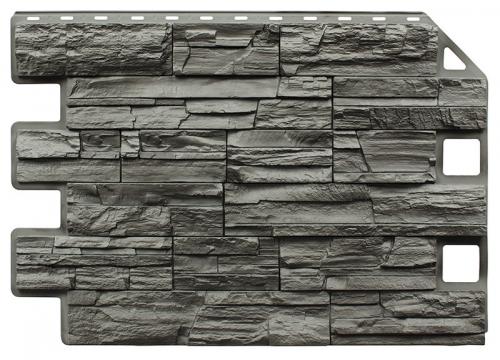 Фасадная панель «ROYAL STONE» Скалистый камень Квебек