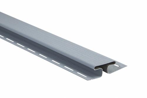 Планка соединительная Альта-Профиль светло-серая, 3м