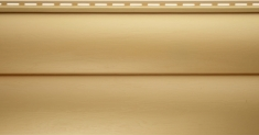 Виниловый сайдинг Альта-Профиль Блокхаус Престиж Двухпереломный BH-02 (Золотистый), 3,1м