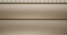 Виниловый сайдинг Альта-Профиль Блокхаус Престиж Двухпереломный BH-02 (Персиковый), 3,1м