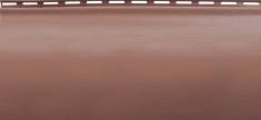 Акриловый сайдинг Альта-Профиль Блокхаус Премиум Однопереломный BH-01 (Красно-коричневый), 3,1м
