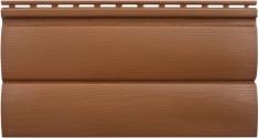 Акриловый сайдинг Альта-Профиль Блокхаус Премиум Двухпереломный малый BH-03 (Дуб светлый), 3,1м
