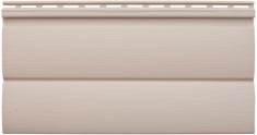Виниловый сайдинг Альта-Профиль Блокхаус Престиж Двухпереломный  малый BH-03 (Персиковый), 3,1м