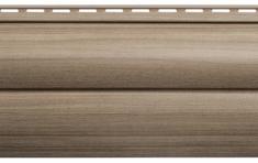 Крашеный  сайдинг Альта-Профиль Блокхаус Люкс Двухпереломный малый BH-03 (Орех), 3м