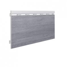 Вспененный сайдинг VOX Kerrafront Wood Effect Одинарный (Concrete Oak), 2.95м