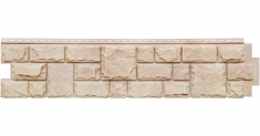 Фасадная панель Grand Line ЯФАСАД Екатерининский камень (Жемчуг), 1,40м
