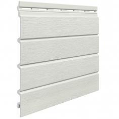 Вспенненый сайдинг VOX Kerrafront Modern Wood Четверная (Pearl grey), 2.95м